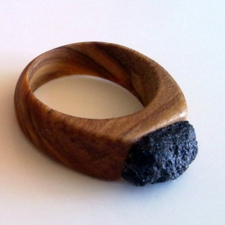 Anillo Olivo+piedra jp4artwood