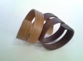 Pulseras espirales Haya y Nogal jp4artwood