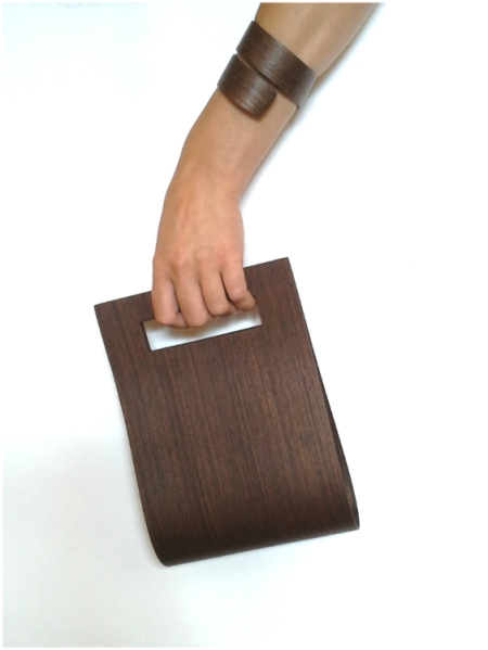 Bolso Sada y pulsera lazo jp4artwood