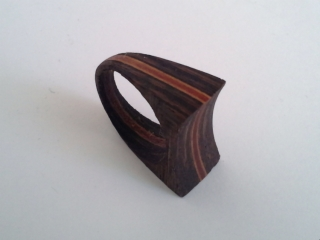Anillo C4 wengue jp4artwood