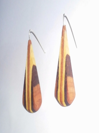 Pendientes Piramidal jp4artwood