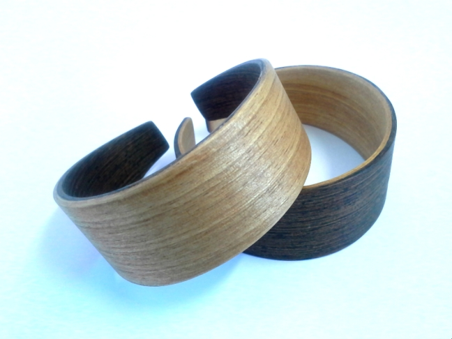 Pulseras kite face Wengue & Curupixa jp4artwood