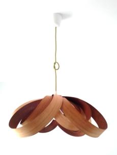 Lámpara Spiry Curupixa-Cedro jp4artwood.