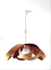 Lámpara Spiry Curupixa-Cedro jp4artwood