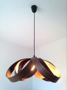 Lámpara Spiry nogal jp4artwood.