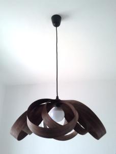 Lámpara Spiry nogal jp4artwood..