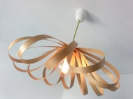 Lamp. Flowers arce jp.4artwood...