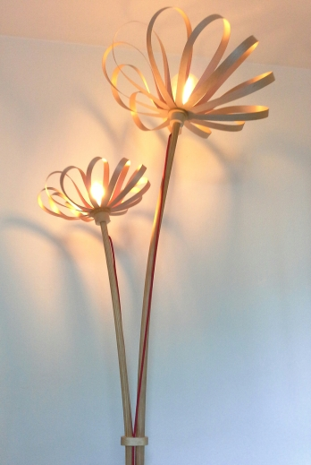Lamp.pie Flowers arce jp.4artwood.
