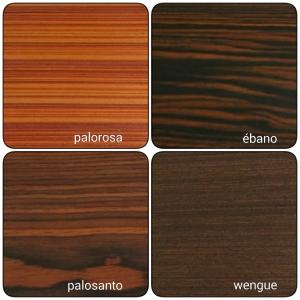 Chapas de maderas precompuestas
